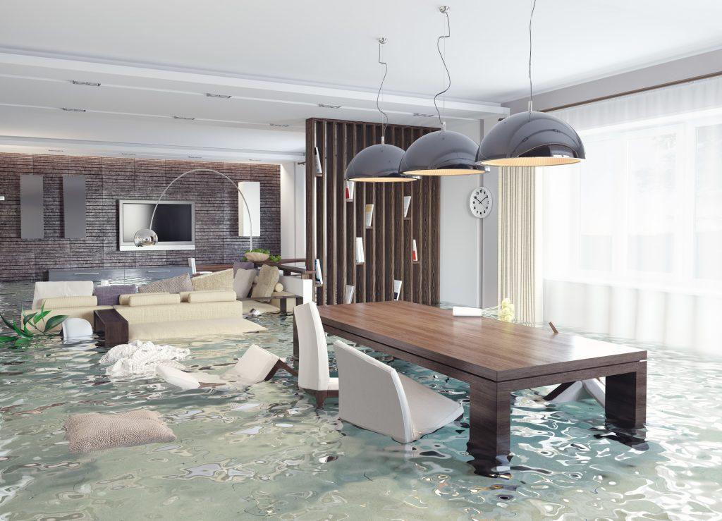 Flooded Rental Property
